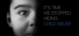 پیام تصویر: زمان آن رسیده که پنهان کردن سوءاستفاده از کودکان را متوقف کنیم