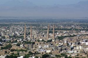 نمایی از شهر هرات