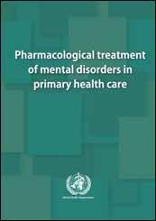 تداوی دوایی اختلالات روانی در مراقبت های صحی اولیه